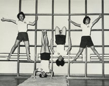 Teacher Training in Hong Kong. Student teachers of the Northcote Training College in the gymnasium, 1962. Catalogue reference: CO 1069/47