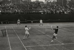 British, Dutch and German lawn tennis players, Lahore, Pakistan, c1958. Catalogue reference: CO 1069/515