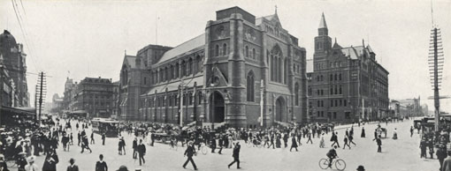 St. Paul's Cathedral, Melbourne, Victoria, Australia, 1912. Catalogue reference: CO 1069/623