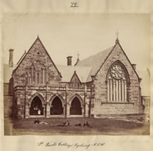 St. Paul's College, Sydney, N.S.W. 1870 Catalogue reference: CO 1069/599