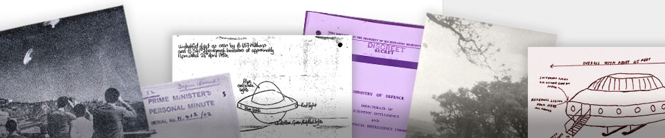 UFO files from the UK government release in 2010