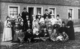Mrs King's wedding group Westerham Kent, 1892 (catalogue reference: COPY 1/409)