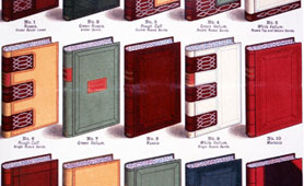 Book bindings catalogue, 1880 (catalogue reference: COPY 1/49)