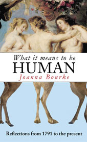 Joanna Bourke book cover - What it means to be human