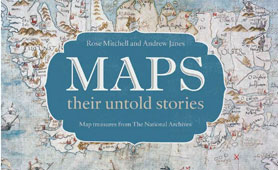 Talk and book launch: Maps: their untold stories