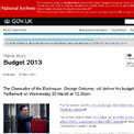 Budget 20 March 2013