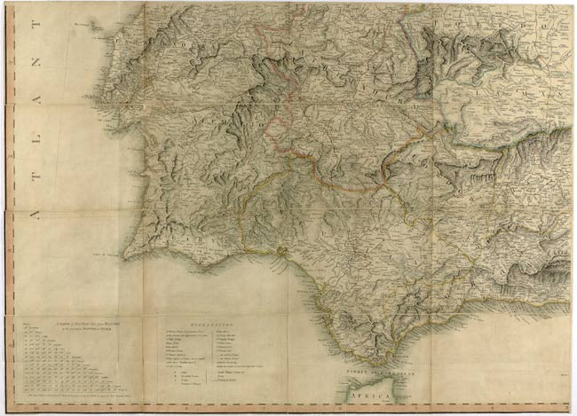 Map, Cape Trafalgar. 1 January 1816. Cat ref: FO 925/3917.