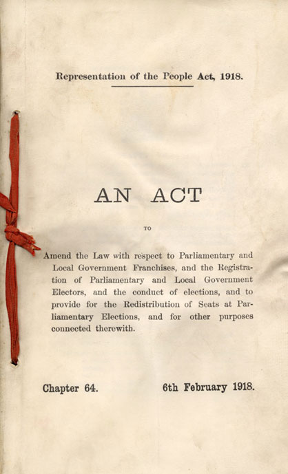 Representation And Men S Health Magazine: Opinions On Representation Of The People Act 1928