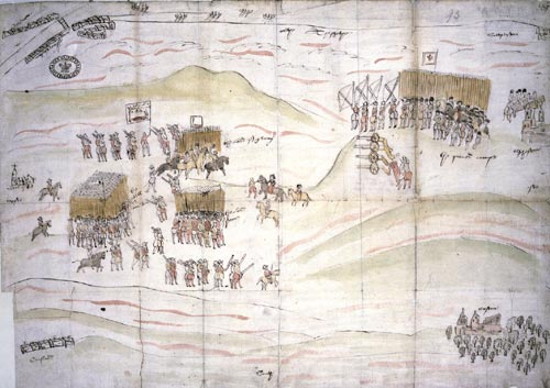 Battle of Carberry Hill, 15 June 1567. Cat ref: MPF 1/366