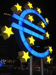 The Euro currency symbol