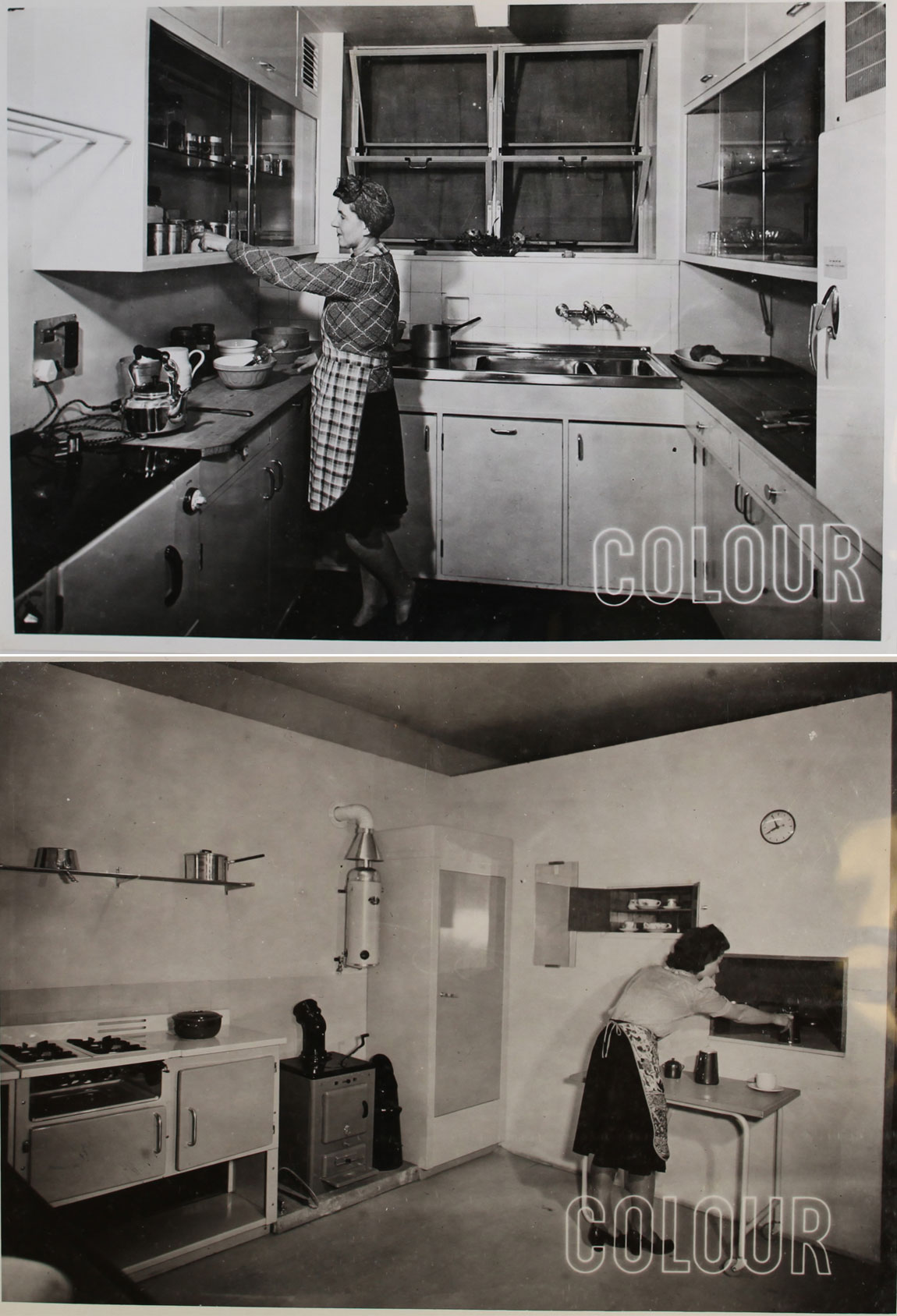 A prototype for a post war kitchen (INF 2/44)