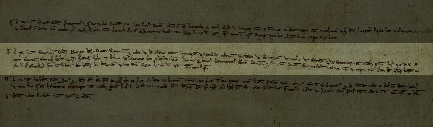 Proclamation of Magna Carta, Worcester, 1217 (C 54/16)