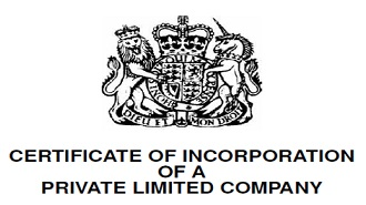 Once a company is registered, a 'certificate of incorporation' is issued by Companies House. This confirms the company legally exists and shows the company number and date of formation.