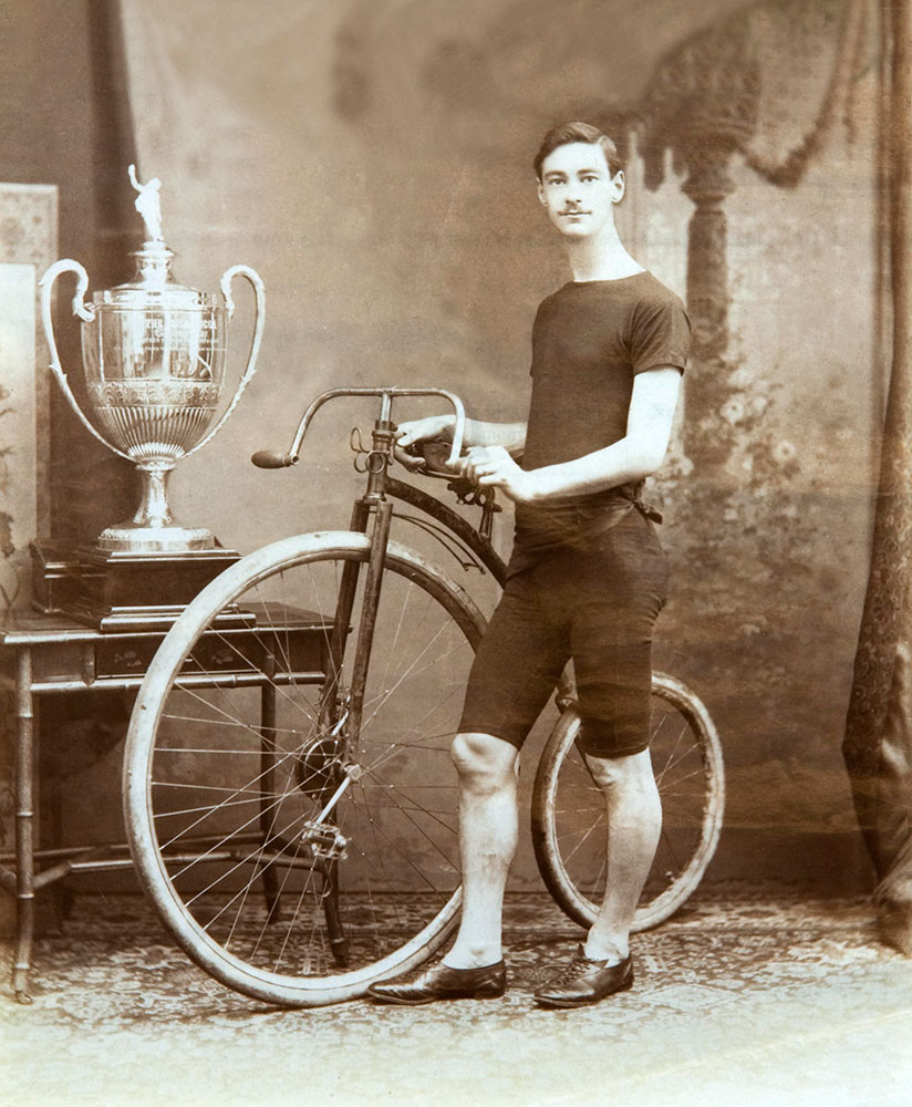 Frank Shortland, Cuca Cocoa Cycling Challenge Cup Champion, 1892 (catalogue reference: COPY 1/410/34)