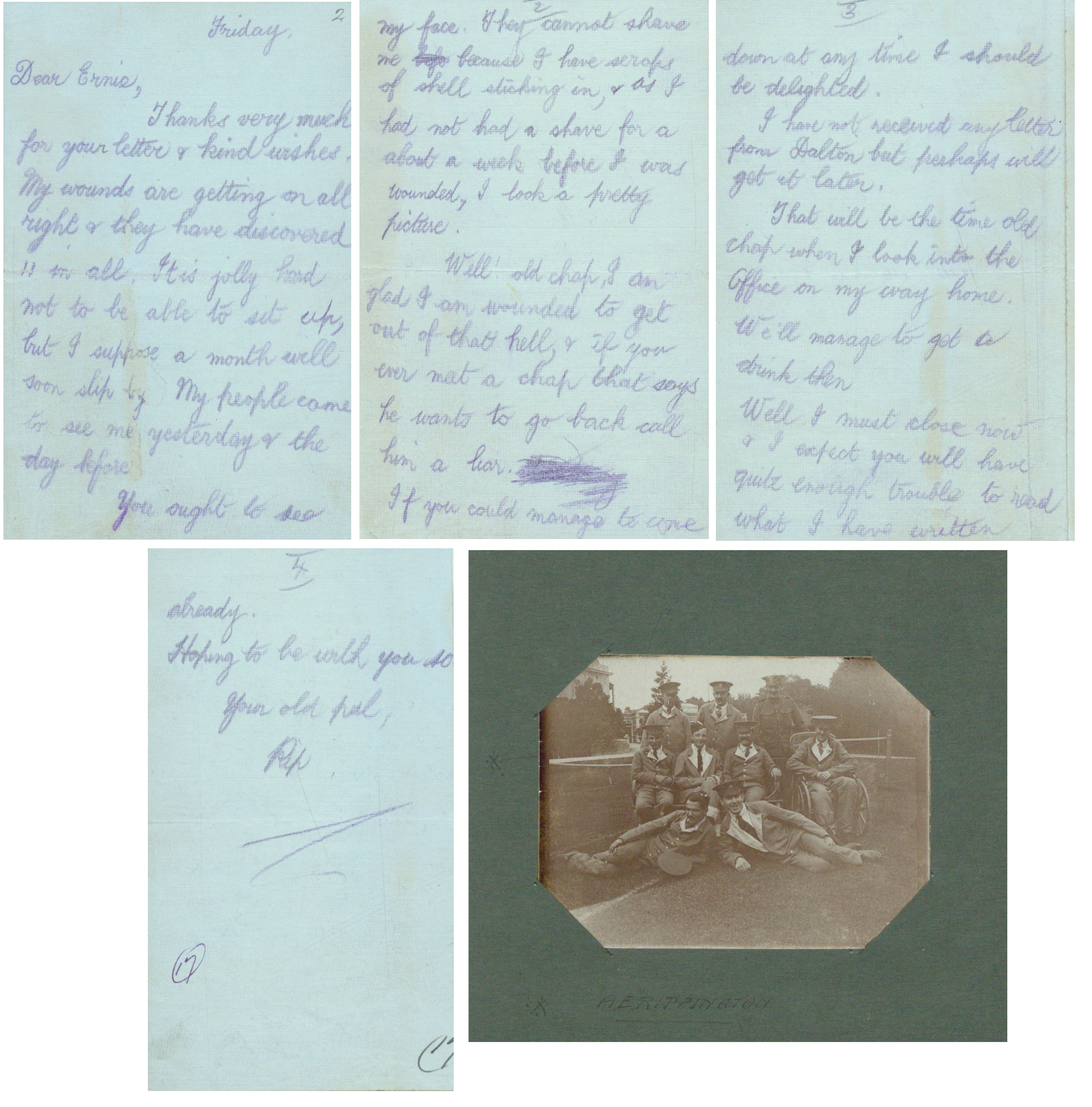 Letters from the First World War, part one - The National Archives