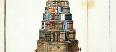 Image of Moving bookstand