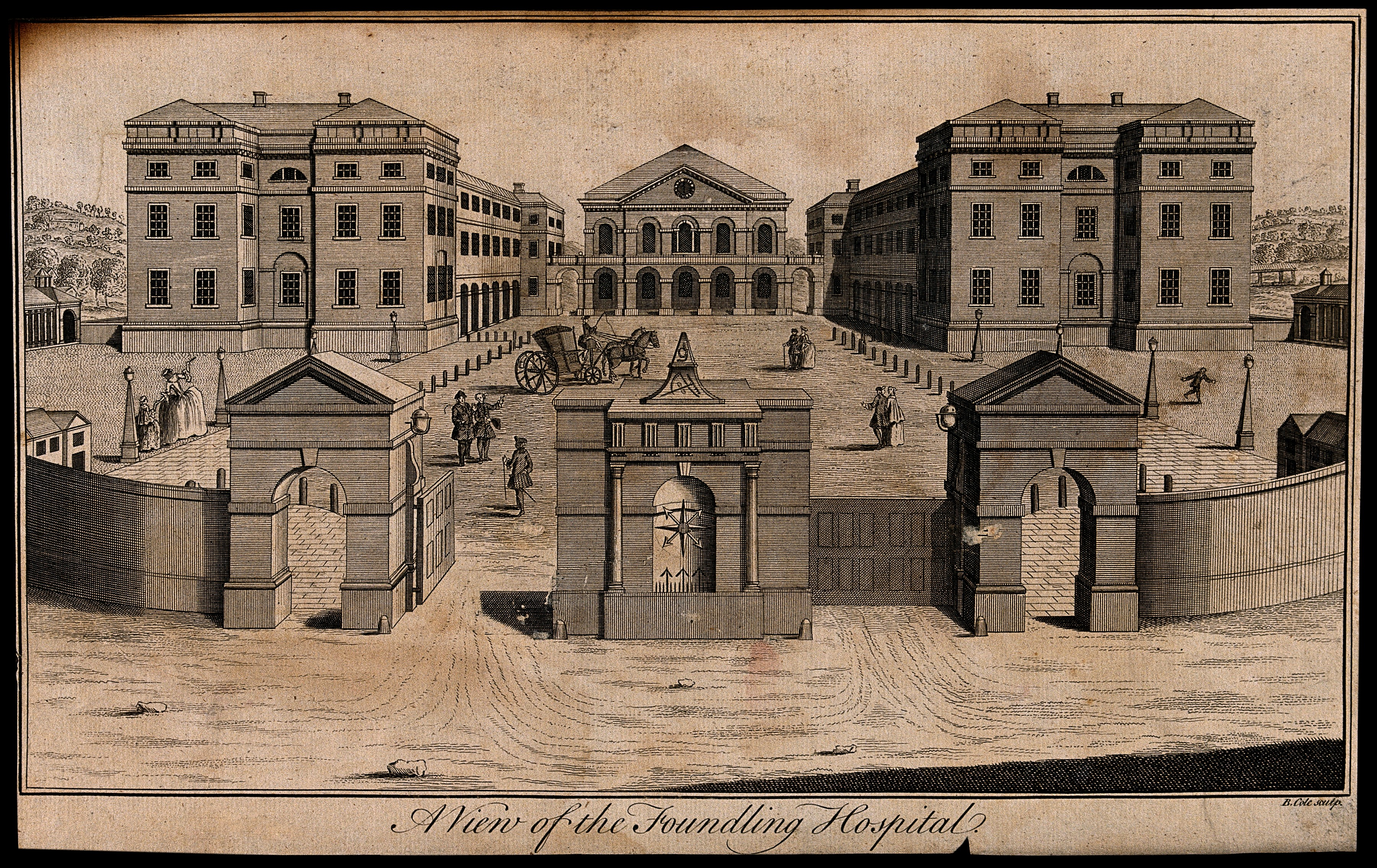Courtyard Homes Foundling Hospital The National Archives