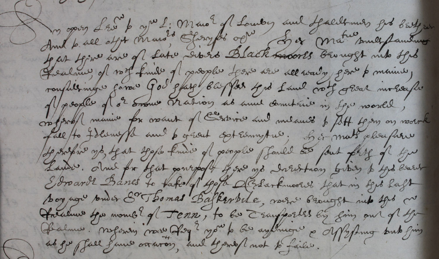 Open letter by Elizabeth I to the mayors of England, 11 July 1596 (PC 2/21 f.304)