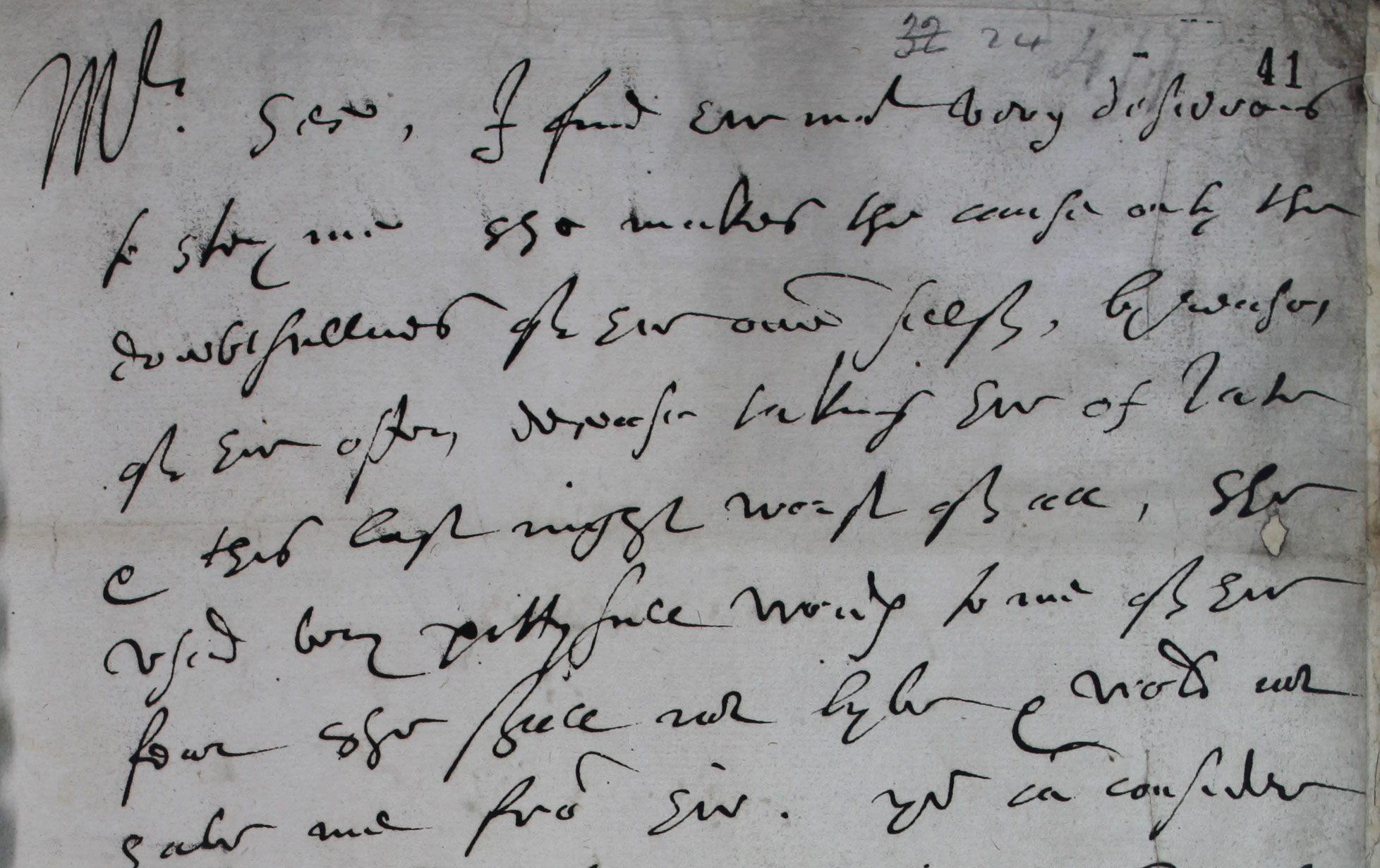 Robert Dudley, Earl of Leicester, to Sir Francis Walsingham, 28 September 1585 (SP 12/182 f.41)