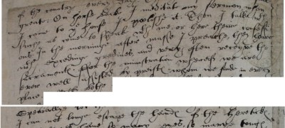 Image of Letter from Edmund Campion