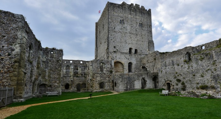 Portchester Castle - The Keep
