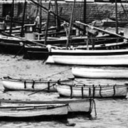 INF9-706 close-up on boats