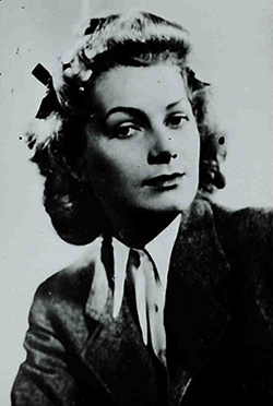 Gisela Winegard, alias Klein, a model who had links with John Profumo (catalogue reference: KV 6/146)
