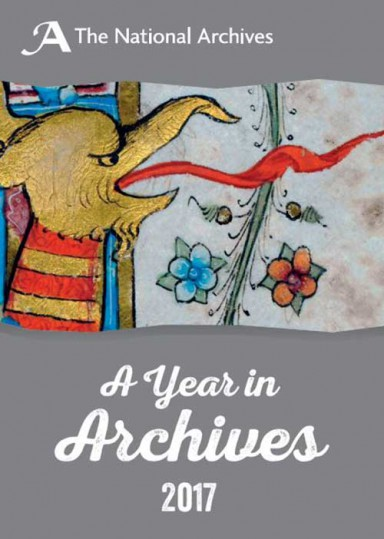 The front cover of 'A Year in Archives'