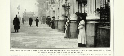 Image of Picketing Parliament