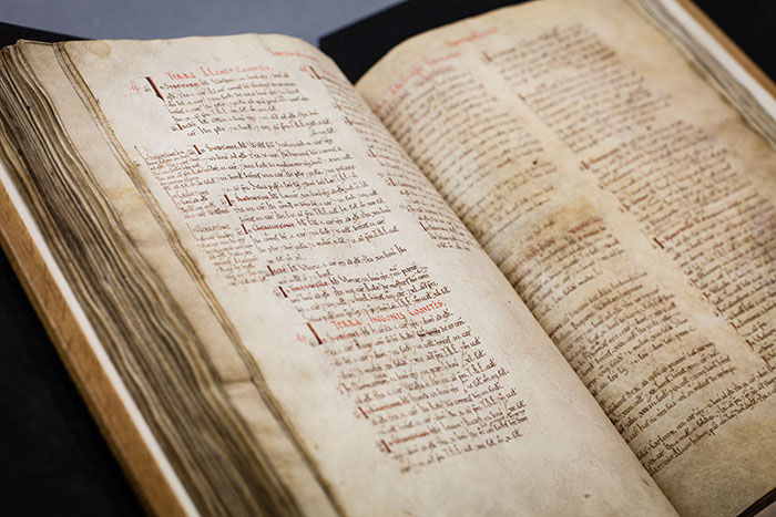 Domesday Book – a very early example of personal data collected and preserved by government